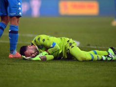 David Ospina infortunio Napoli