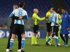 Gattuso abbraccia Fabian Ruiz