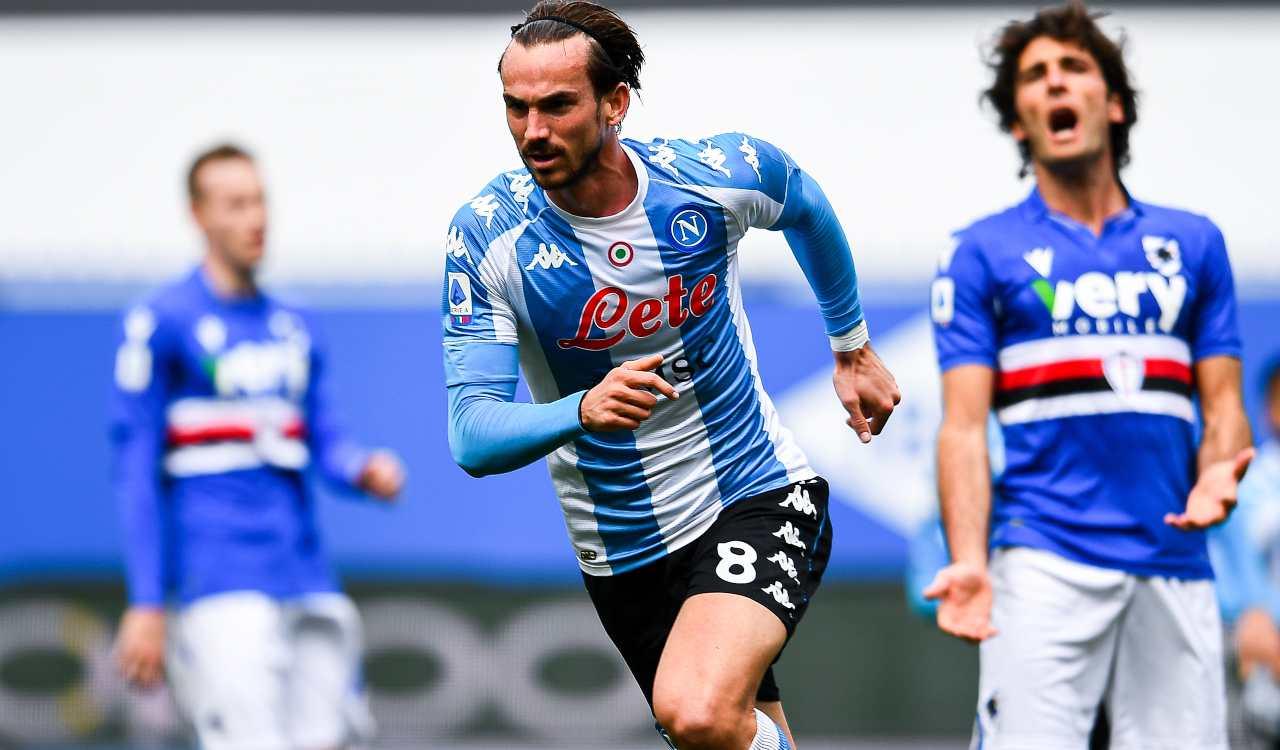 Fabian Ruiz Sampdoria Napoli