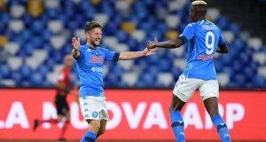 Napoli Lazio Mertens Osimhen