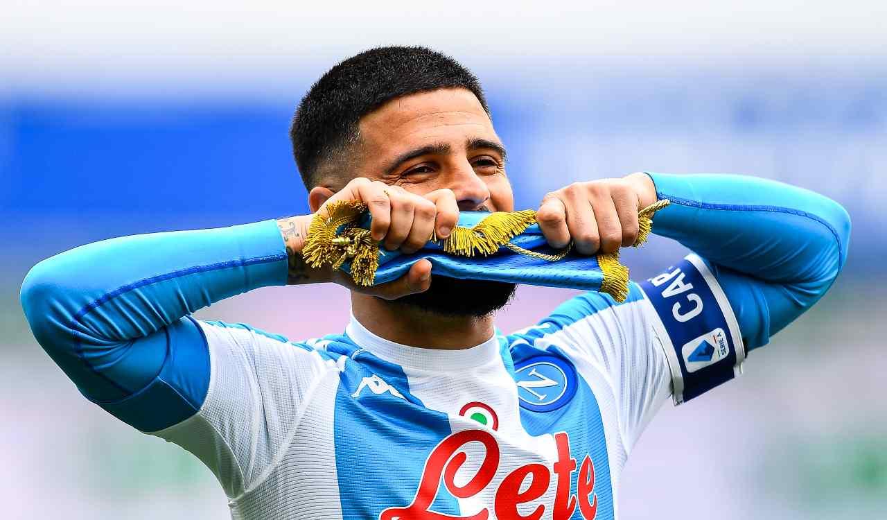 insigne 300 presenze in Serie A