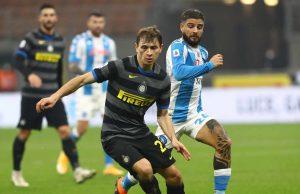 Insigne Barella Napoli Inter