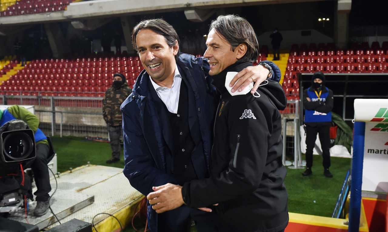 Simone e Filippo Inzaghi fratelli