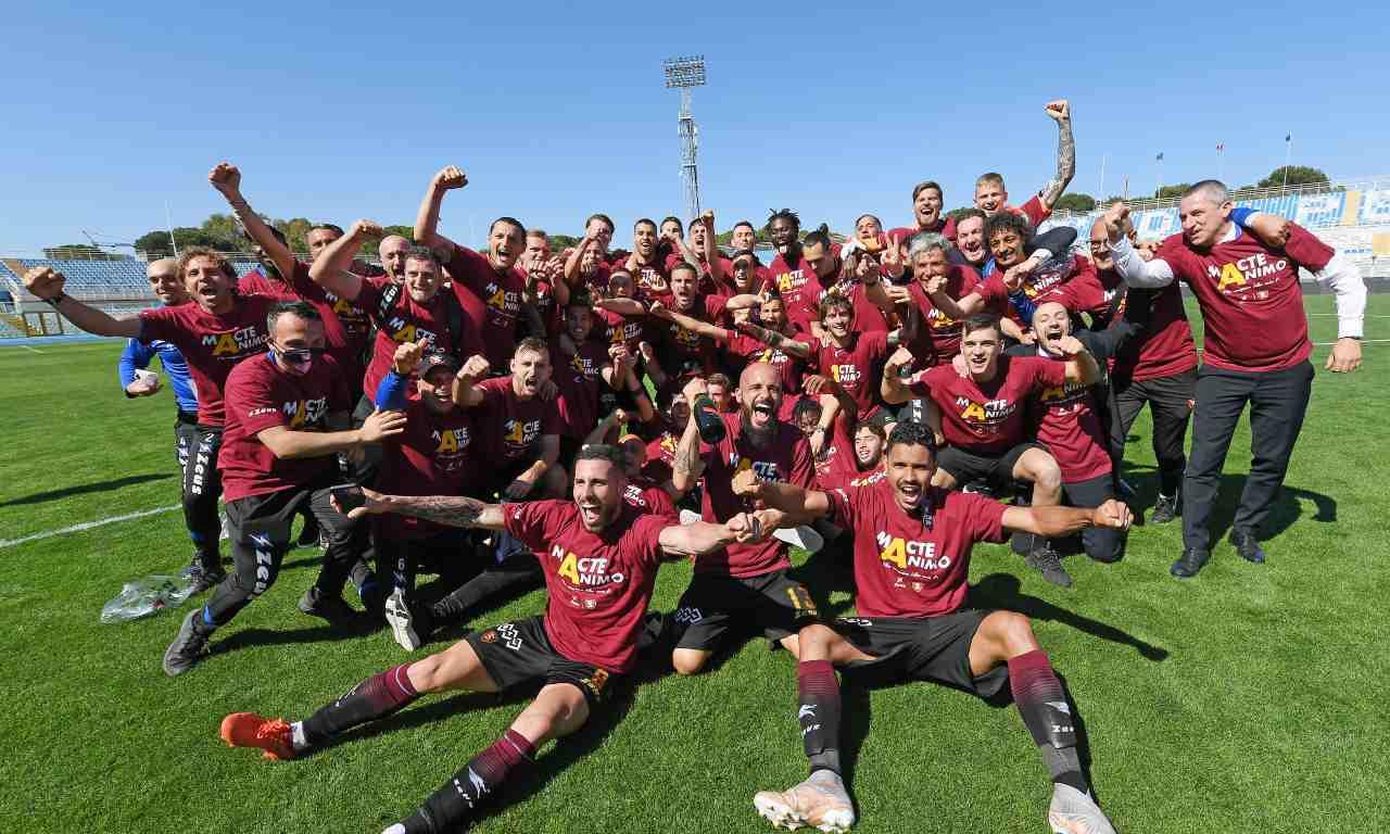 Salernitana festa Serie A