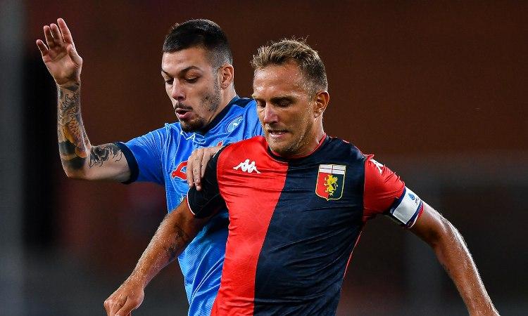 Gianluca Gaetano e Domenico Criscito in azione