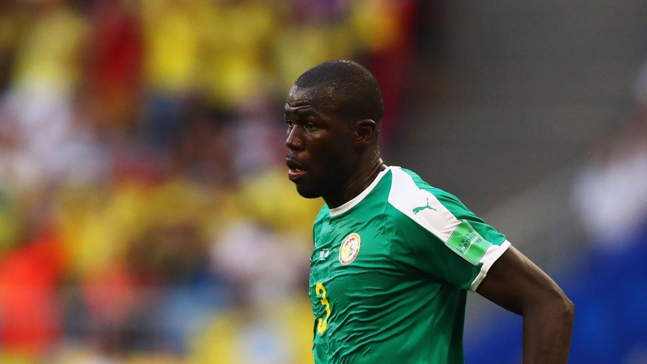 Koulibaly con il Senegal