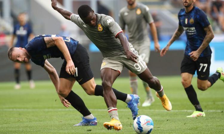 Kallon contro l'Inter