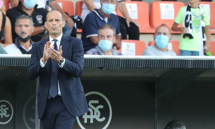 Allegri Spezia Juventus
