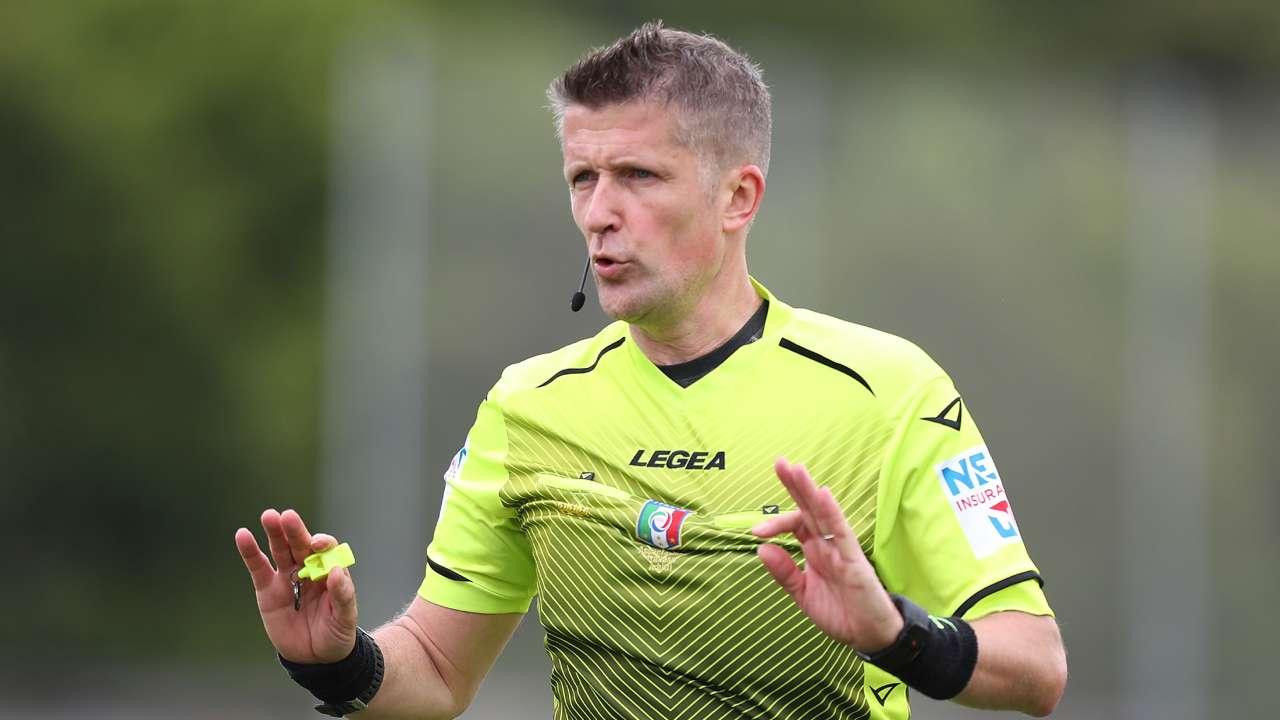 Daniele Orsato Serie A designazioni
