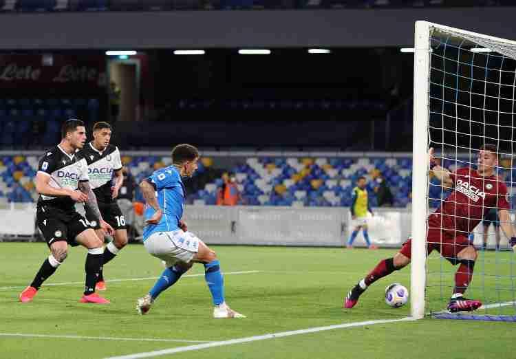 Di Lorenzo gol Napoli