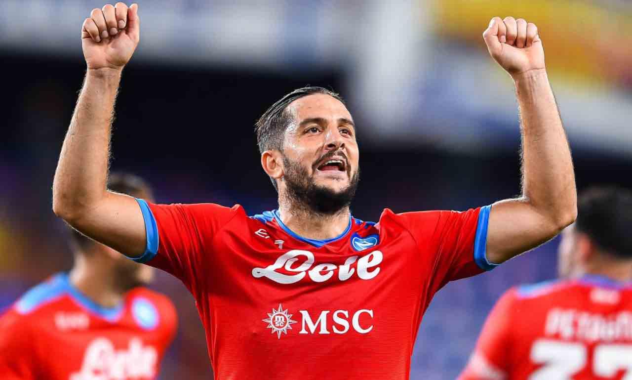 Kostas Manolas durante Sampdoria-Napoli