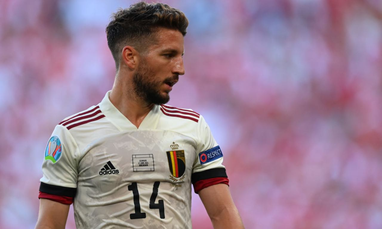 Dries Mertens in Danimarca-Belgio, Euro 2020