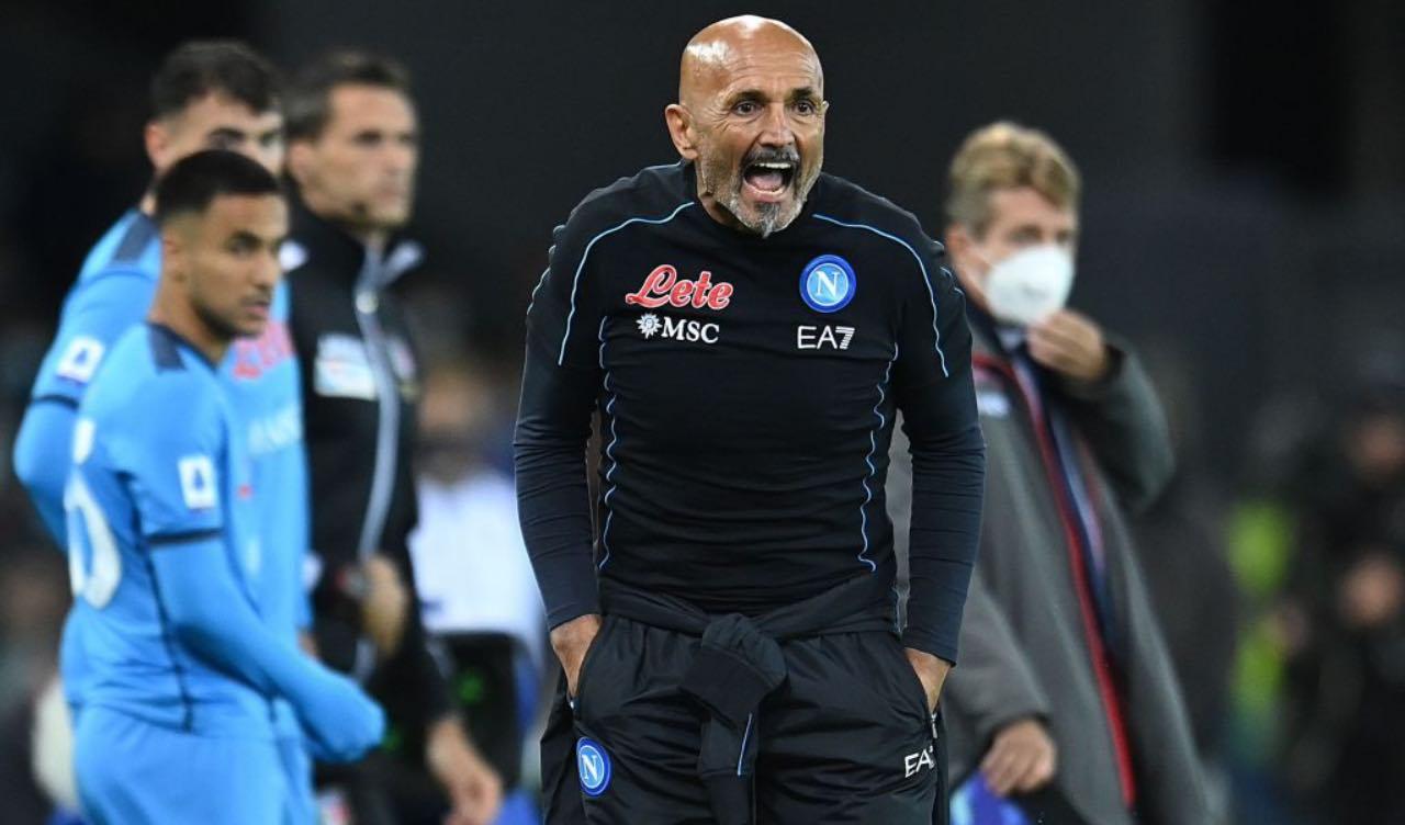 Spalletti in Udinese-Napoli