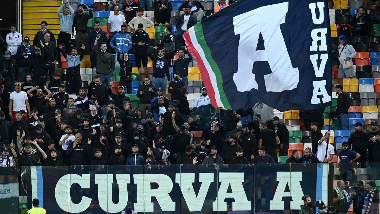 I tifosi del Napoli ad Udine