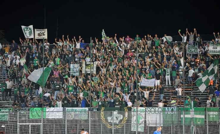 I tifosi dell'Avellino