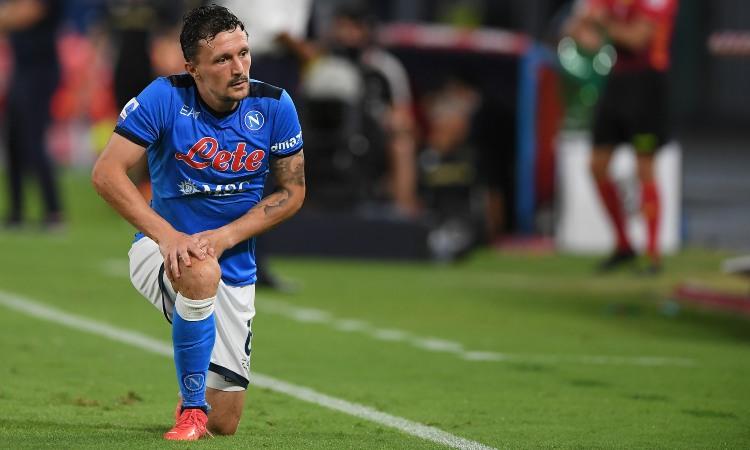 Mario Rui in ginocchio