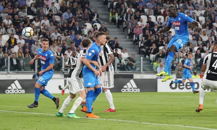 Koulibaly gol Juve Napoli