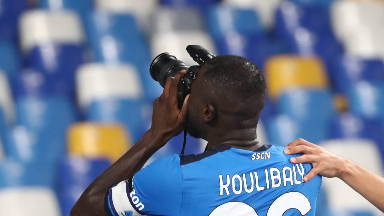 Esultanza Koulibaly
