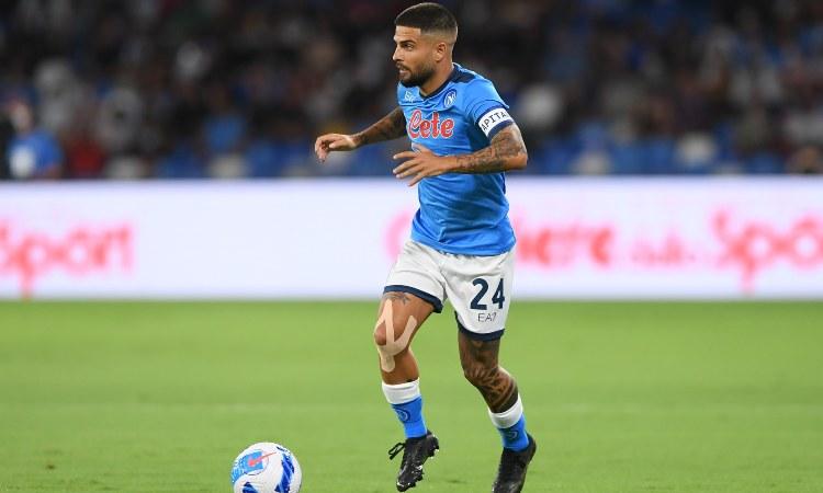 Lorenzo Insigne Leicester-Napoli