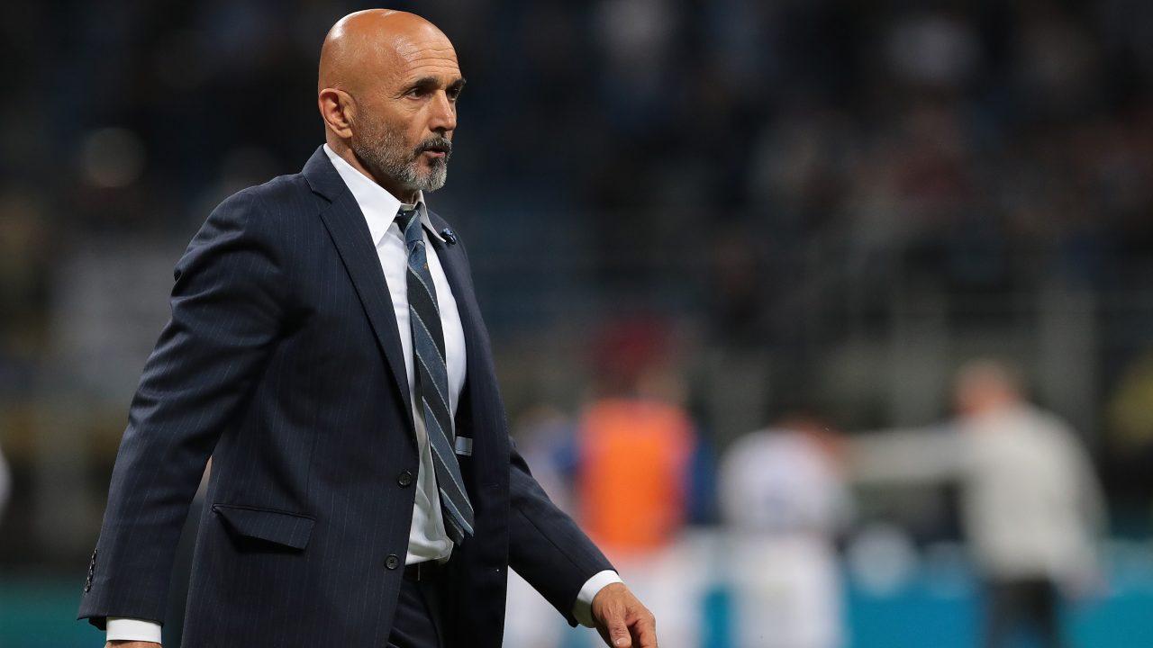 Luciano Spalletti Leicester-Napoli