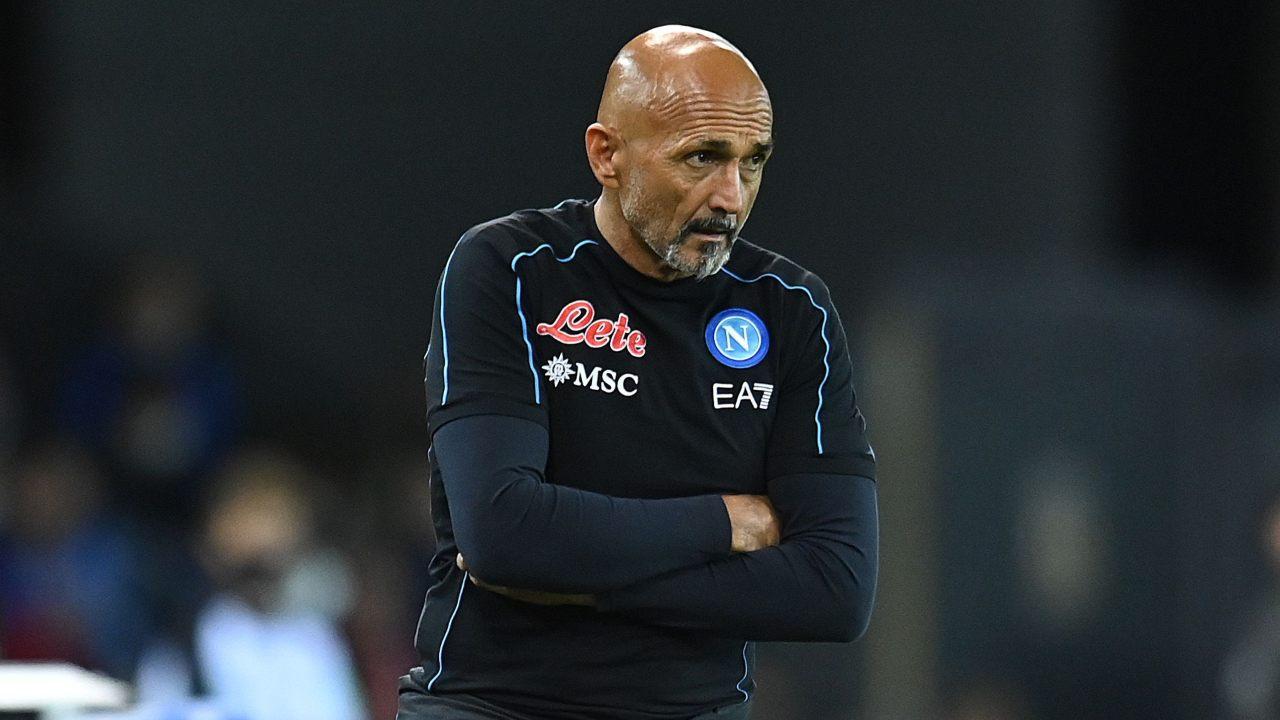 Luciano Spalletti Sampdoria-Napoli