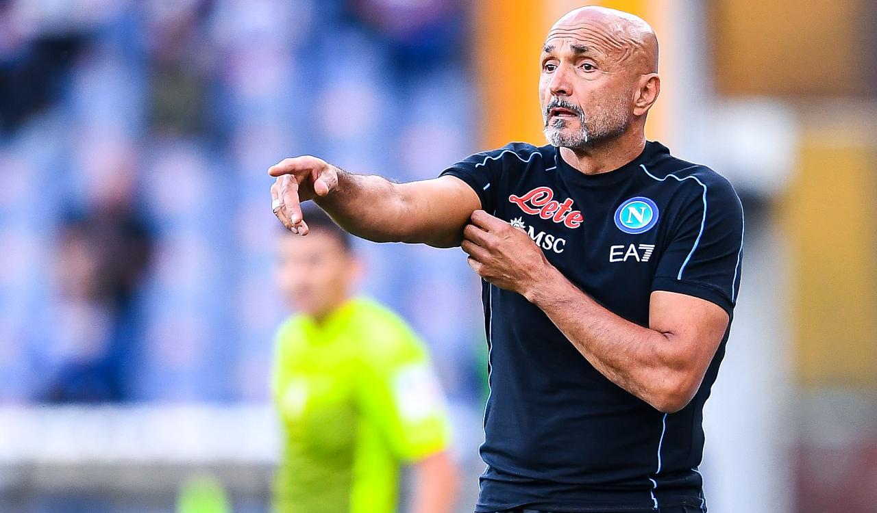 Luciano Spalletti Cagliari-Napoli