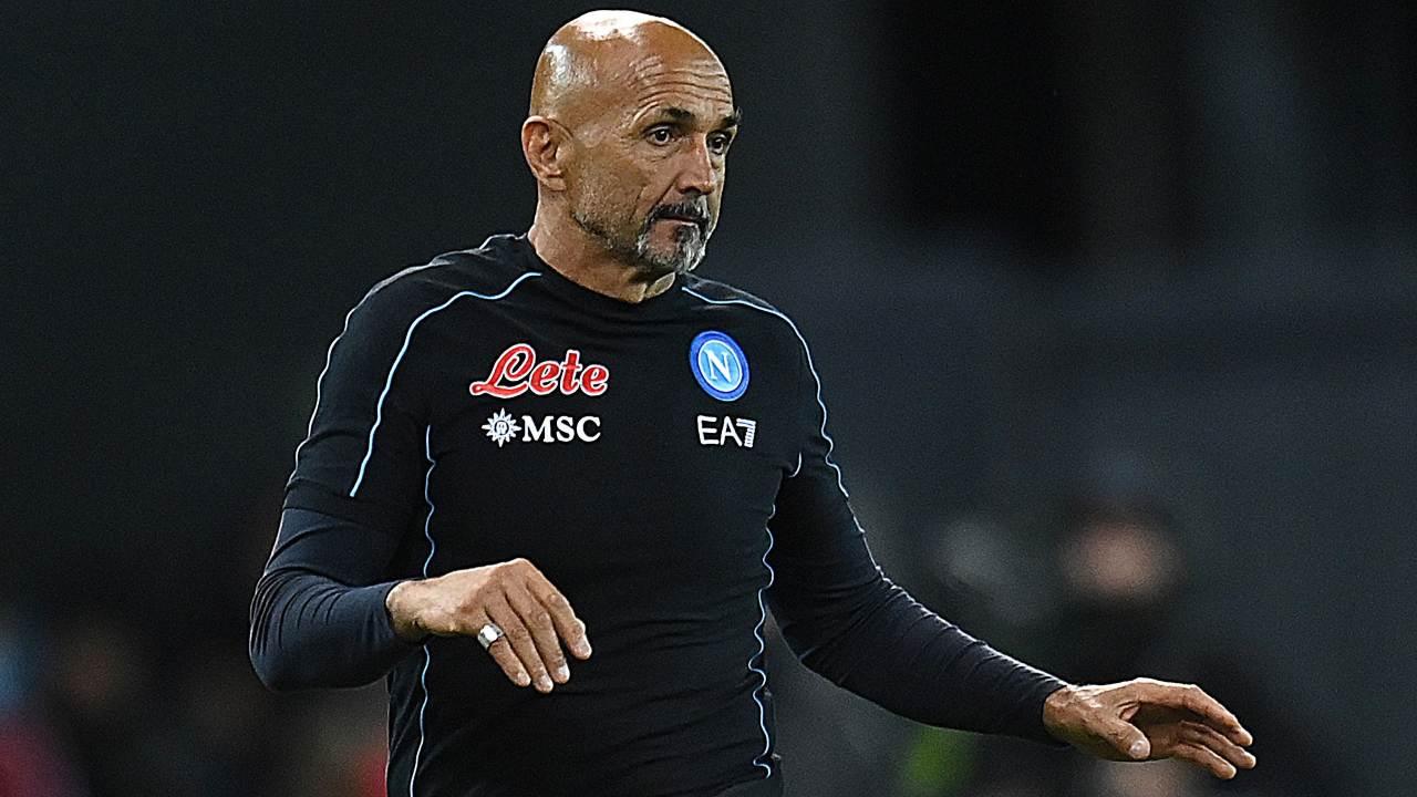 Luciano Spalletti infortunati Napoli