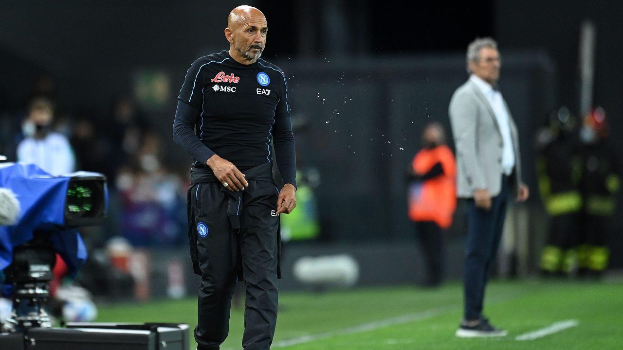 Luciano Spalletti turn over