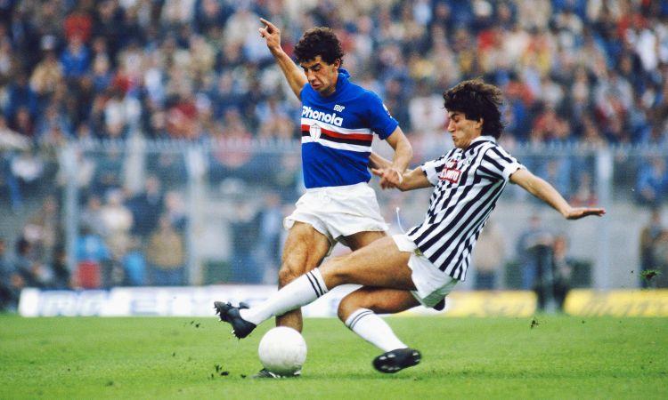 Gianluca Vialli in azione