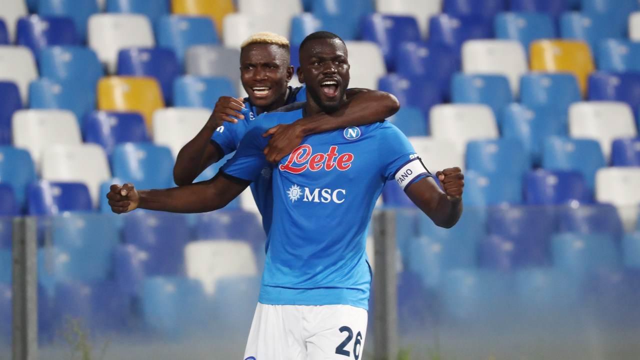 Osimhen e Koulibaly a rischio per Leicester-Napoli