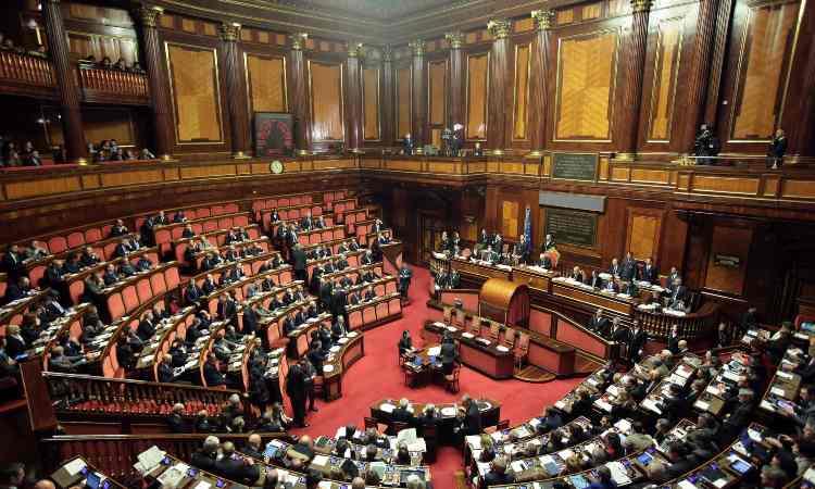 Parlamento italiano Dazn