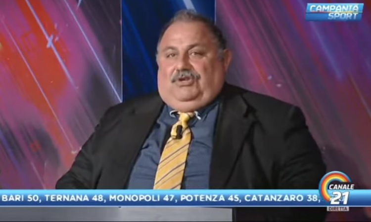 Peppe Iannicelli inquadrato