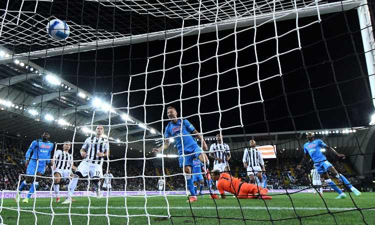 Il Napoli va in gol