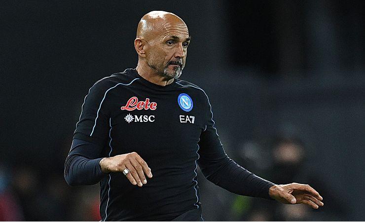 Spalletti, allenatore del Napoli