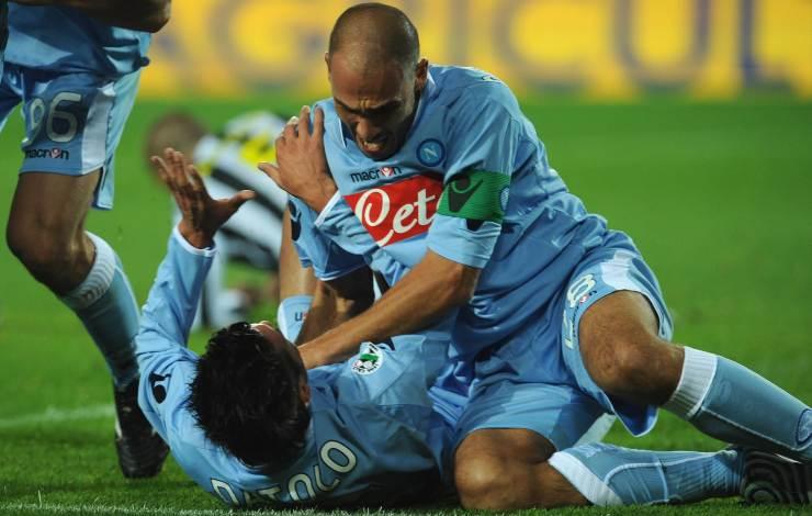 Cannavaro e Datolo in Juventus-Napoli