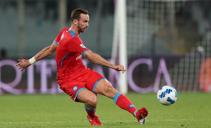 Fabian Ruiz con la maglia del Napoli