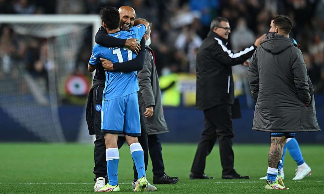 Napoli, Spalletti abbraccia Lozano