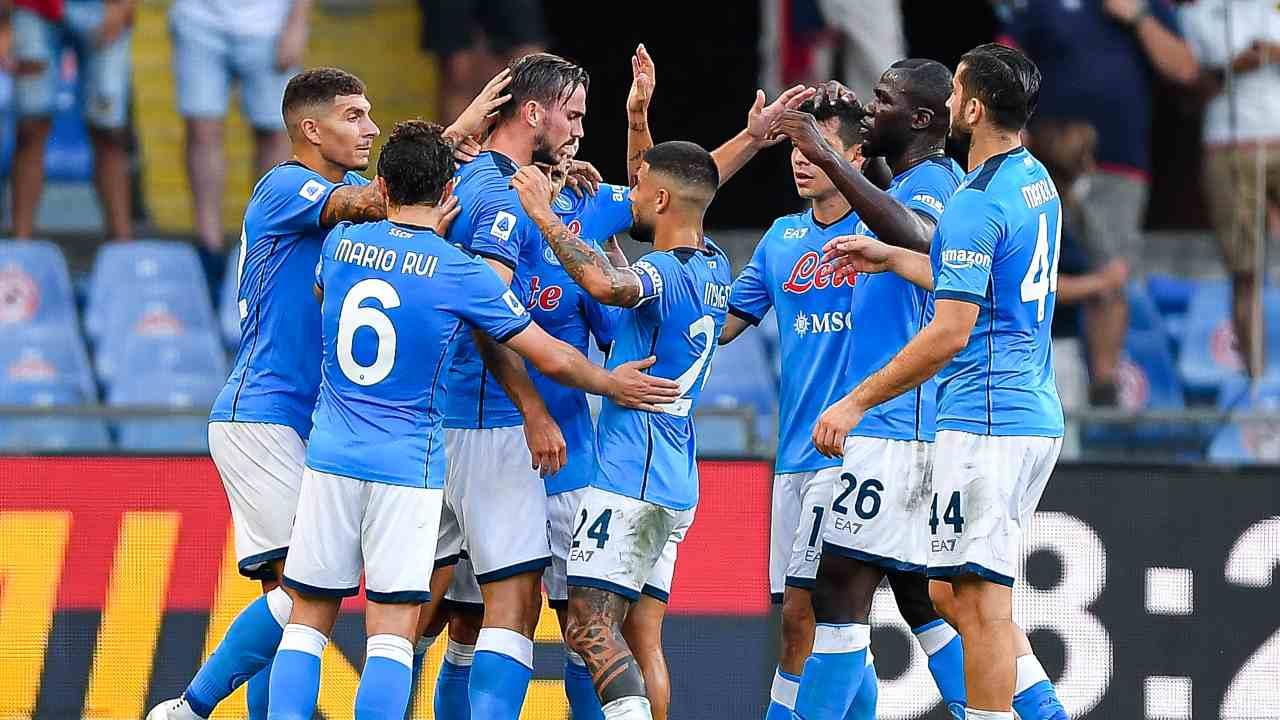 I calciatori del Napoli