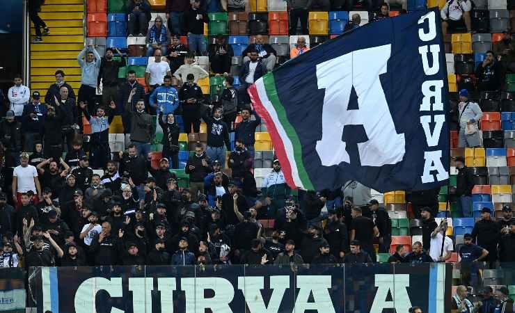 I tifosi del Napoli in trasferta a Udine