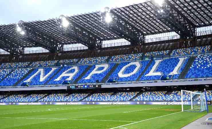 Lo stadio Diego Armando Maradona di Napoli