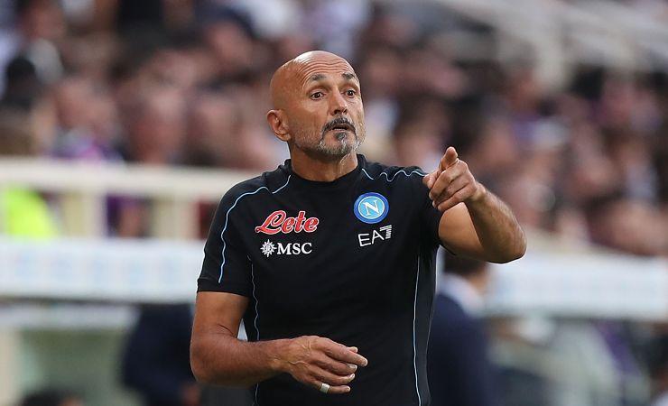 Luciano Spalletti, allenatore del Napoli