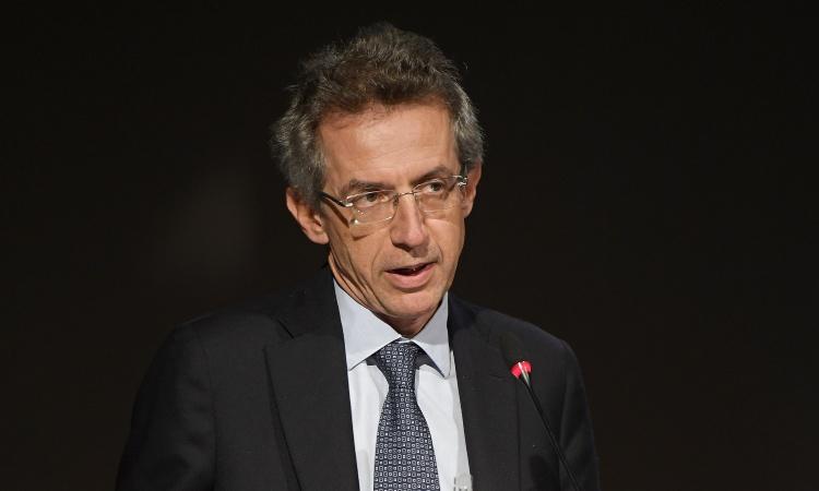 Gaetano Manfredi in conferenza