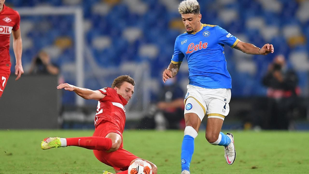 Napoli Kevin Malcuit infortunio